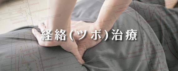 経絡(ツボ)治療